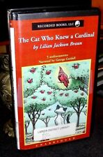 The Cat Who Knew a Cradinal by Lillian Jackson Braun Unabridged Audio Cassettes