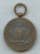 1909 R. Nave Calabria Campagna Di Circumnavigazione WWI Italian Copper Medal