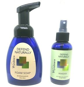Defend Naturally   Wyndmere Foam Soap and Air Mist   Combo Pack   12 oz