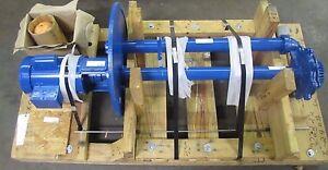 PEERLESS LGL2 1HP 1 HP 115-208/230 1725 RPM 1PH MOTOR SUMP PUMP REBUILT
