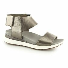 Hush Puppies JOSU AZALEA Ladies Womens Ankle Strap Summer Sandals Metallic