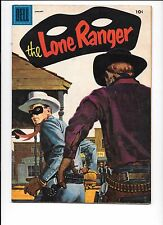 The Lone Ranger #91 January 1956 Dell Comics