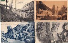 Lot 4 cartes postales anciennes DRÔME LUC-EN-DIOIS 1