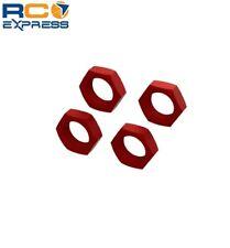 Arrma Aluminum Wheel Nut 24mm Red 4  ARA310929