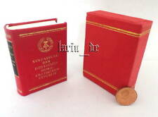 DDR Minibuch Verfassung 1974 Staatsverlag 1975 East german small miniature Book