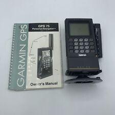 VTG Garmin GPS 75 Personal Navigator Marine GPS 75 5VDC To 40VDC.