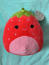 "Squishmallow 8"" Scarlet The Strawberry RARE KellyToy Ships Fast NWT"