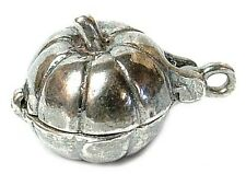 VINTAGE SILVER apertura MOUSE IN ZUCCA Charm