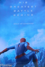 "THE AMAZING SPIDER-MAN 2 2014 23"" x 16"" ORIGINAL UK CINEMA MOVIE PROMO POSTER"