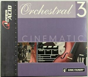 Loops For Acid: Orchestral Series 3: Cinematic (CD-ROM)