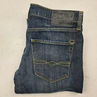 Men's Levi's Denizen 216 Skinny Fit Size 32 x 28 Jeans Blue Denim  - MC22