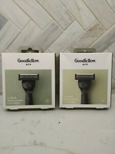 Lot of 2 Goodfellow & Co 5-Blade Replacement Cartridges, 8 Ct 16 total