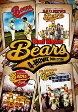 NEW DVD - BAD NEWS BEARS 1976 + 2005 + GO TO JAPAN + BREAKING TRAINING -MATTHAU