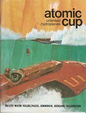 1969 Atomic Cup Tri-City Water Follies Hydroplane Race Program