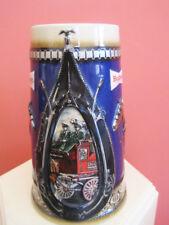 Budweiser Annheiser Busch King of Beers Fire Truck Stein
