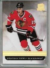 11/12 Upper Deck The Cup Jonathan Toews Gold Base #'ed 05/25