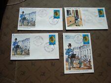 FRANCIA - 1 tarjeta 3 sobres 1er día 8/3/1975 (journee el sello de) (B14)french