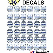 36 WATERPROOF BRINKS ADT Home Security Alarm System Warning Sticker Decal Signs