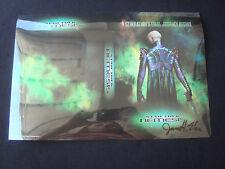 Star Trek Nemesis Refractor DVD Chrome Chromium Cover Proof Prototype Signed