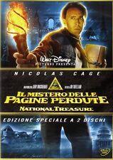 Dvd IL MISTERO DELLE PAGINE PERDUTE - (2007) (2 Dvd) ** Nicolas Cage ** ...NUOVO