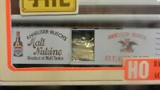 Train Miniature HO Annheuser Busch Malt Nutrine Billboard Wood Boxcar Kit, NIB