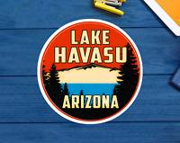 "Lake Havasu Arizona Decal Sticker 3"" Houseboat House Boat Boating Water Skiing"