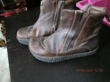 EARTH LEATHER BOOTS 3/36