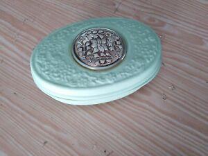 Portagioie in ceramica con inserti decorati