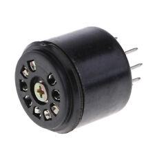 Tubo de 9 Pines Socket 12AX7 Amplificador de Tubo de Audio Base de Ahorro