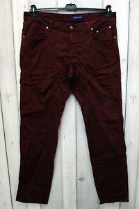 Jeans Jeckerson Uomo Taglia 56 Rosso Denim Pantalone Man Cotone Logo Italy Pant
