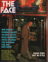 The Face UK Magazine January 1981 Bob Marley Vivienne Westwood 061520AME