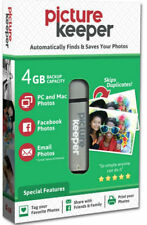 Picture Keeper 4GB Flash USB Backup/ Storage Device for Computers- w/FREE Case