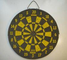 """Vintage Regent England Dart Board 10.5"""" Used"""