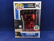 BATMAN 144 Chrome Red DC Super Heroes Funko Pop Exclusive Vinyl Funko Shop