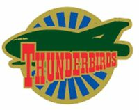 Gerry Anderson's Thunderbirds Thunderbird  Two  enamel pin badge BRAND NEW  !