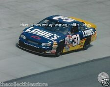 MIKE SKINNER LOWES CHEVY MONTE CARLO NASCAR WINSTON CUP CAR 8 X 10 PHOTO #01
