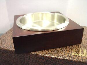 Dunhill Mahogany Wood Ashtray New & Boxed