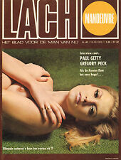 MAGAZINE DE LACH 1970 nr. 42 - HOT TUNA / ARABELLE MASTERS / PAUL GETTY / ANNA