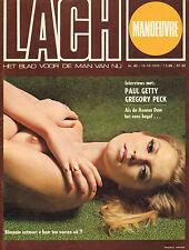 MAGAZINE DE LACH 1970 nr. 42 - HOT TUNA/ARABELLE MASTERS/PAUL GETTY/ANNA