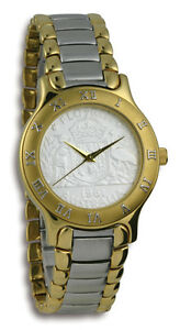 Mens Summit Australian Florin CoinWatch - 2-Tone Florin coin dial and band
