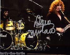 Dave Mustaine  #2 8 x 10 Autograph Reprint  Megadeth