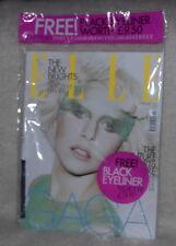 ELLE UK Magazine, LADY GAGA, Alexander Mcqueen, Matt Irwin, SEALED FREE EYELINER