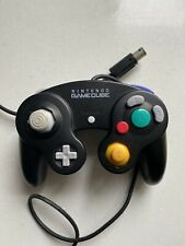 Official Black Nintendo GameCube Controller Genuine