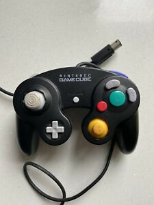 Official Black Nintendo GameCube Controller Genuine