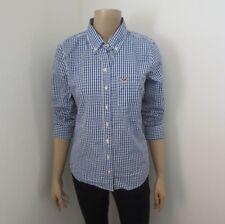 Hollister Womens Plaid Shirt Size Medium Button Down Checkered Top