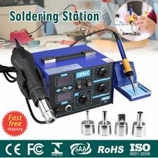 2in1 SMD Soldering Station Solder Iron Rework Hot Air Gun Desoldering Tool 862D+