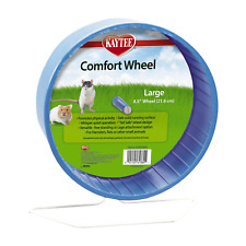 Large Quiet Exercise Wheel With Heavy Duty Stand For Hamster Rat Gerbil Hedge.