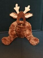"Hallmark Christmas Comet the Reindeer Beanbag plush 16"""