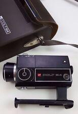 GAF Colt 94 CAMERA Vintage VTG Reflex ZOOM Lens SUPER 8 Movie FILM Carrying CASE