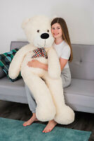 LARGE SOFT TEDDY BEAR GIANT HUGE CUDDLY PLUSH BIRTHDAY CHRISTMAS GIFT PRESENT